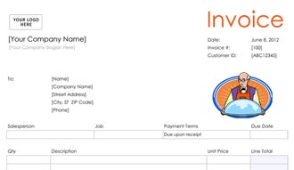 Invoice Template  Catering Invoices