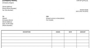 Cleaning Service Invoice - Cleaning service invoice template